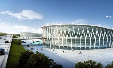 Aeropuerto de Wonsan, proyecto de Karolis Kazlauskas & PLT Planning & Architecture, Ltd.