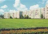 """zona verde en el microdistrito. Foto: M.Citron """"Urbanismo 1.01"""""""